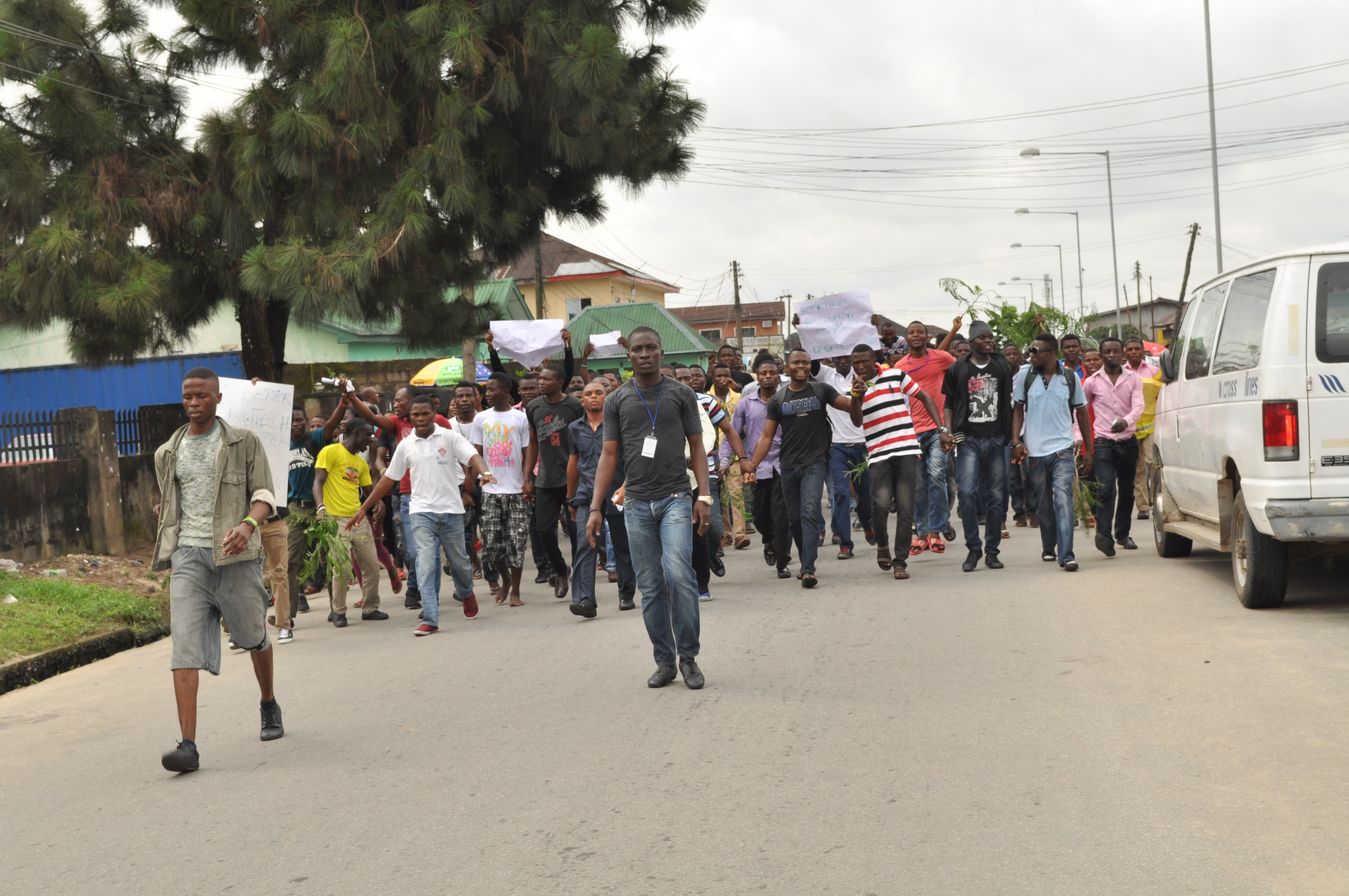 I Regret Participating in Today's Protest – CRUTECH SUG President
