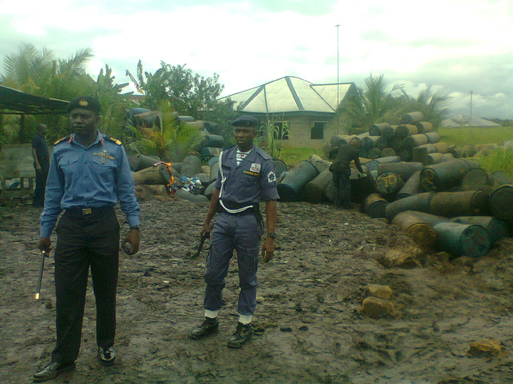 JTF Destroys Bunkering Products, Arrests Six in C-River