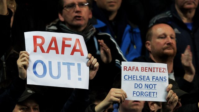 Chelsea: Rafael Benitez Boos Will Continue Say Fans