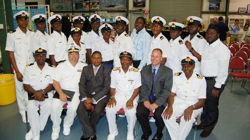 Cross River Gets Admiral in Navy Promotion