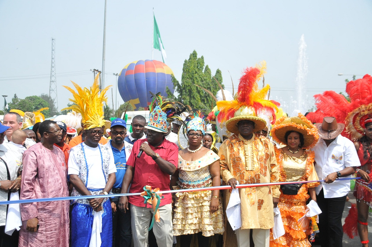 C'River Acting Gov. Flags Off Carnival Calabar
