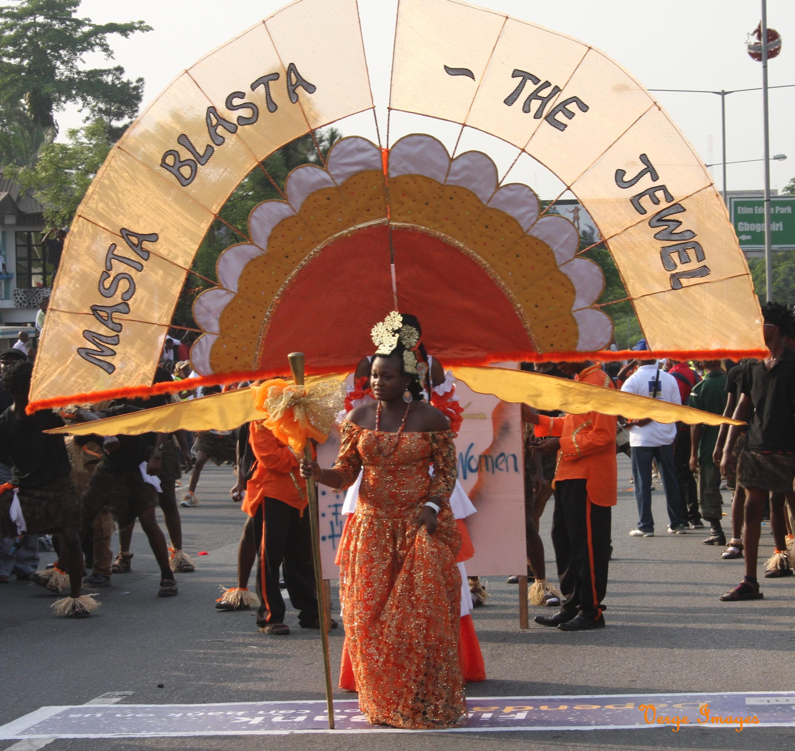 Masta Blasta Band Wins 2012 Carnival Calabar