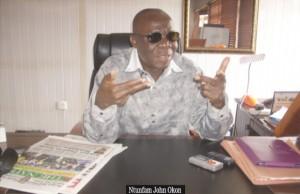 Ntufam John Okon Chairman, PDP Cross River State