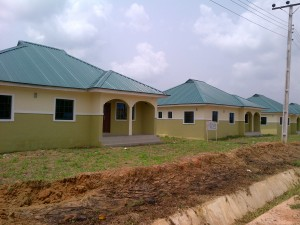 The new Federal Housing Authority Estate in Odukpani LGA, CRS