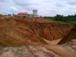 erosion in nddc project