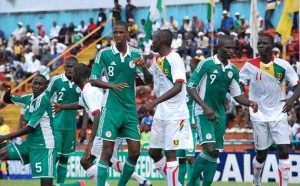 Nigeria's Golden Eaglets in action