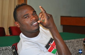 Oliech Dennis, Captain of the Kenyan National Team, Harambee Stars