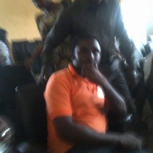 Prince Mike Abuo in Court  today