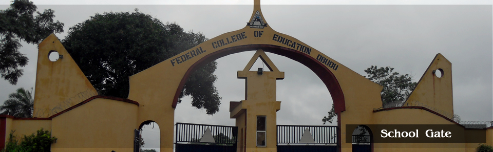 Main Gate, FCE Obudu