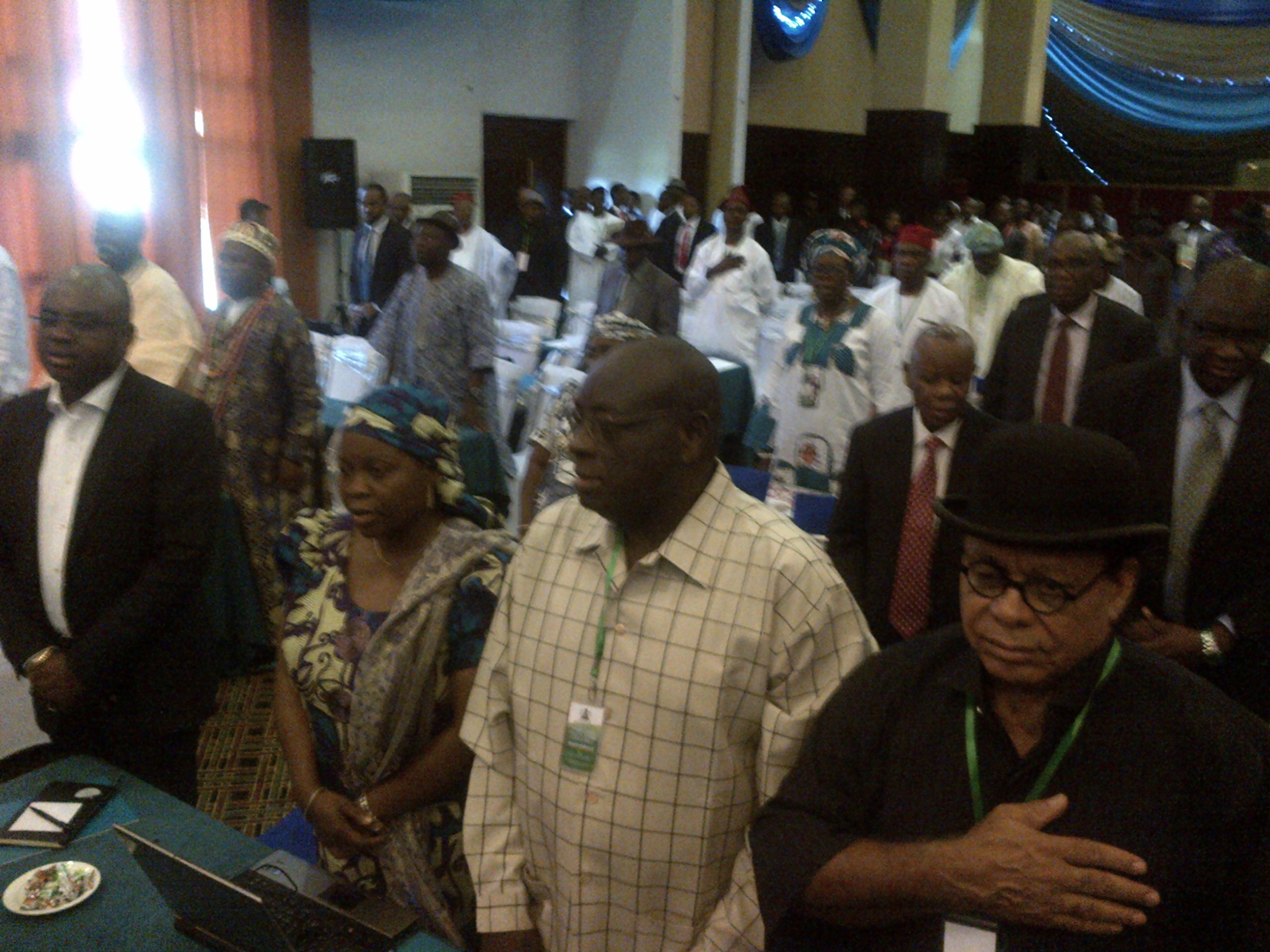 A cross section of participants at the ongoing Niger Delta Stakeholders Summit in Uyo