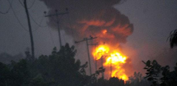 pipelin explosion