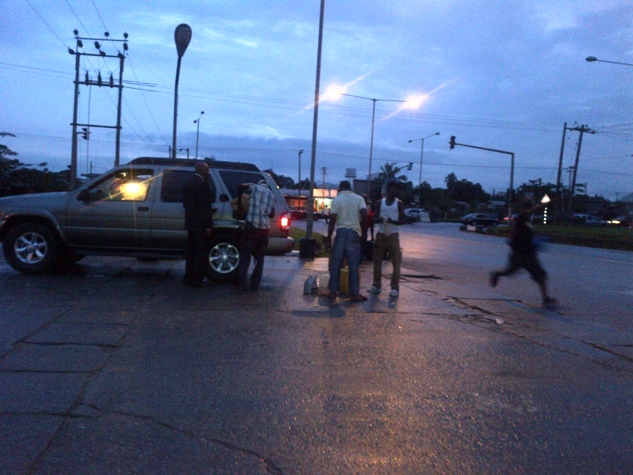 Black marketers on the streets of Calabar today