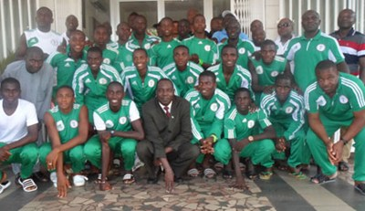 Golden Eaglets Head to Calabar For Closed-Camping