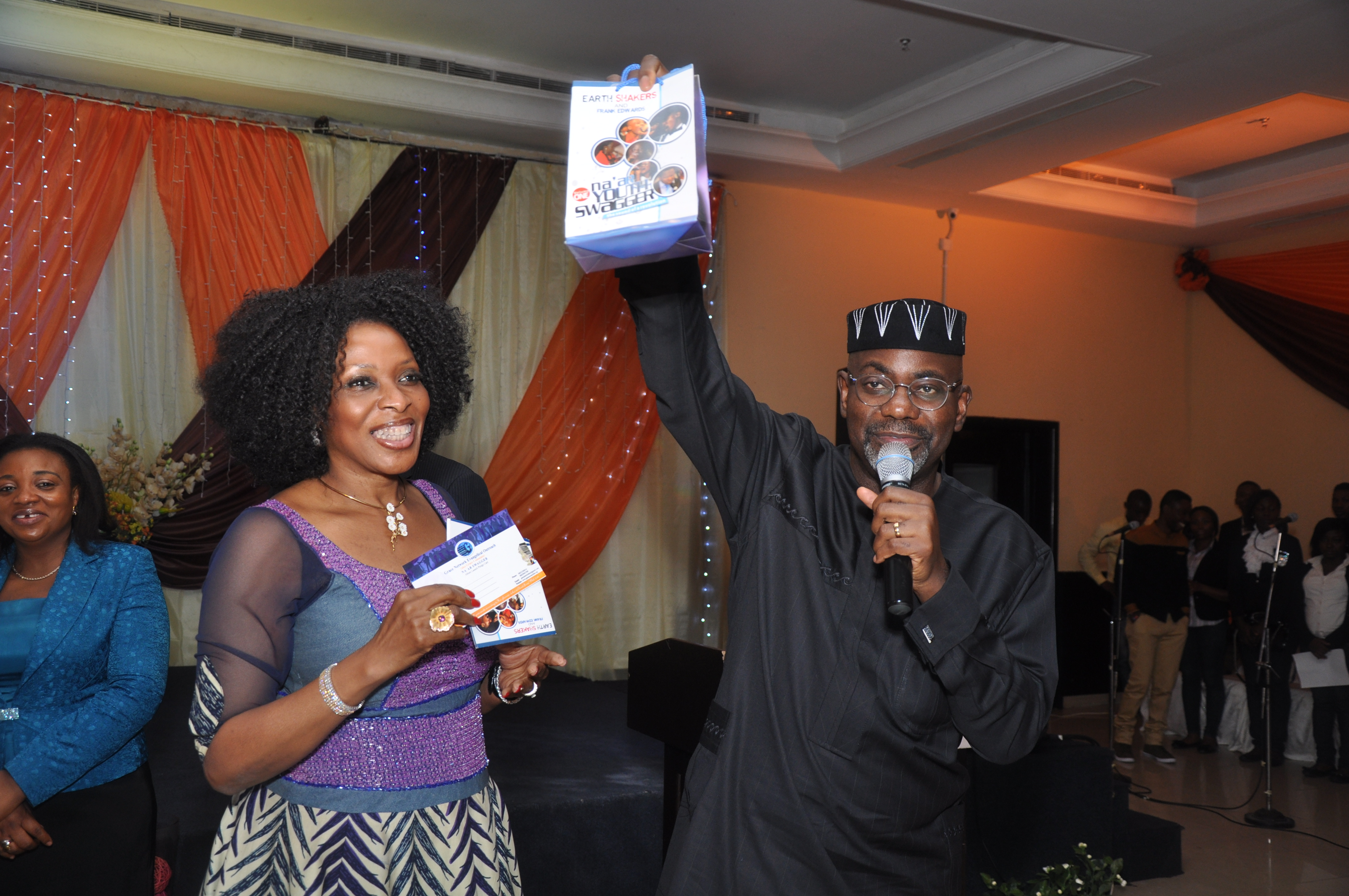 Governor Imoke at the youth program