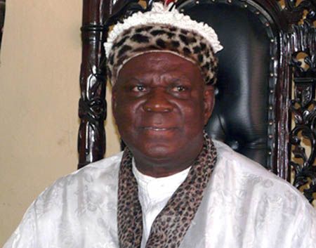 Etubom Ekpo Okon Abasi Otu, re-selected as Obong of Calabar