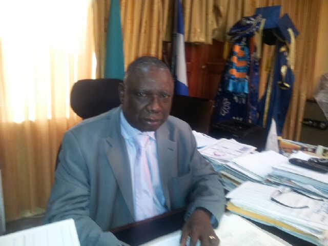 Professor James Epoke, Vice Chancellor, University of Calabar,