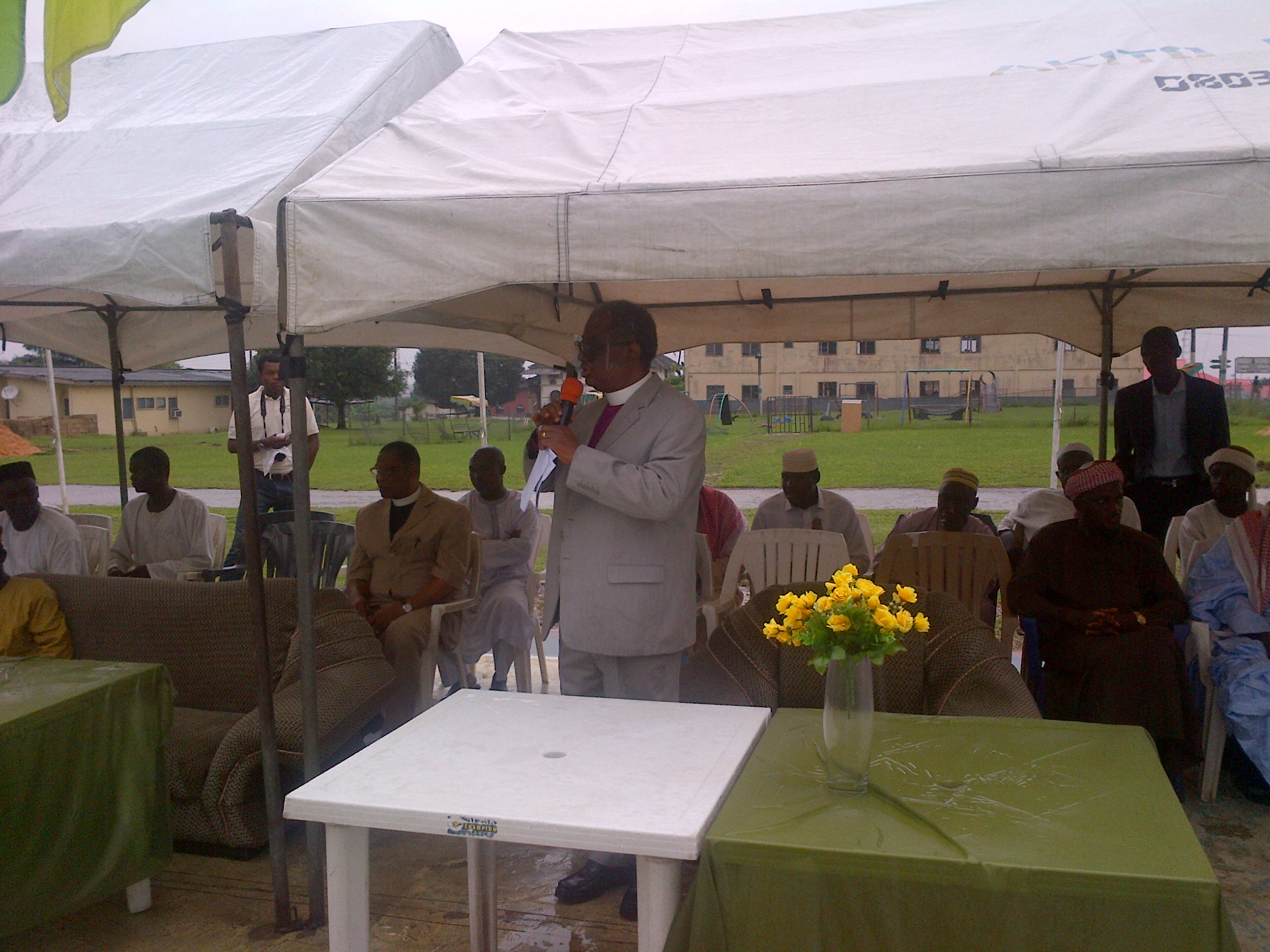 Rev. Tunde Adeleye, Bishop of Anglican Communion, Diocese of Calabar