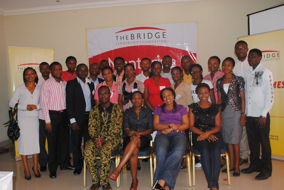 Alumni members of Bridge Leadership Foundation