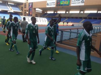 Golden Eaglets Beat Cross River Team 10-0