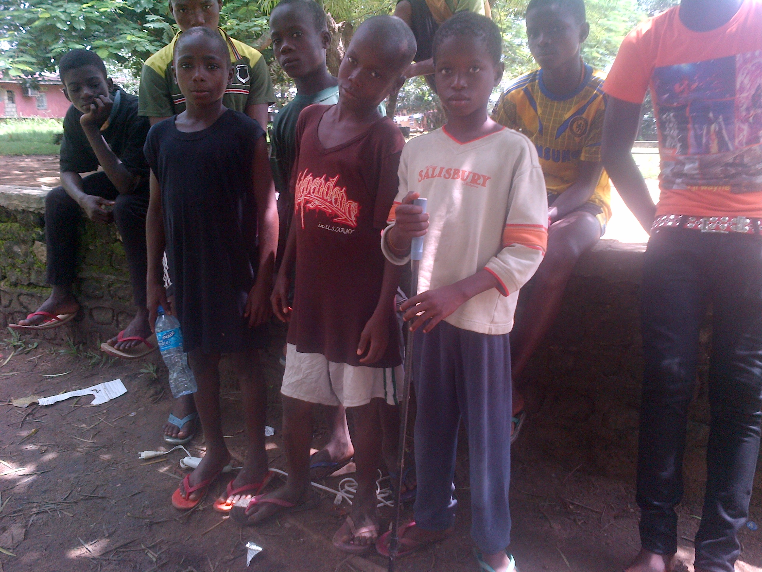 Abandoned children on the streets of Calabar