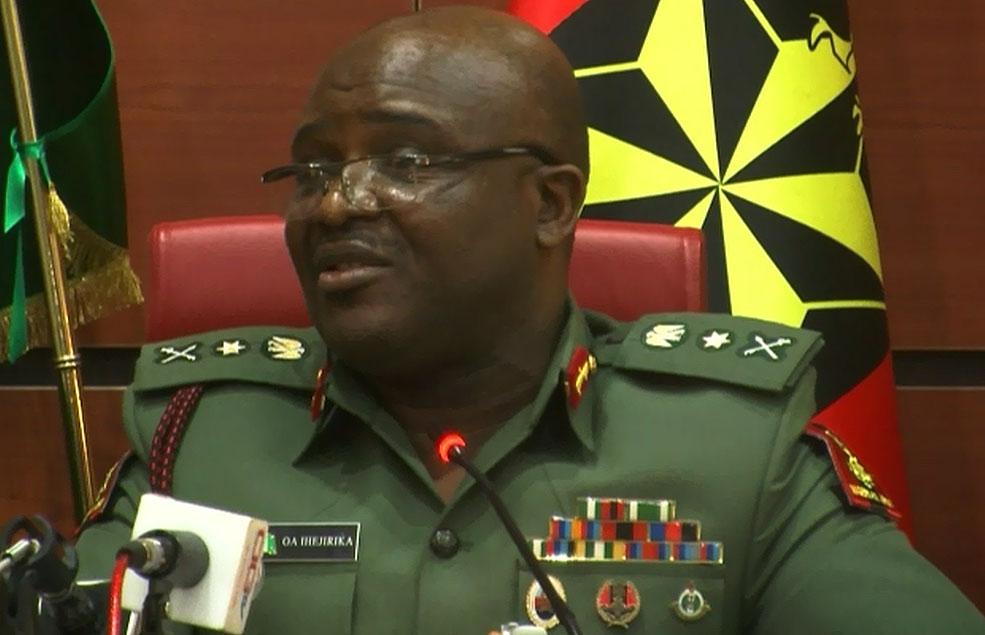 General Ihejirika, Chief of Army Staff