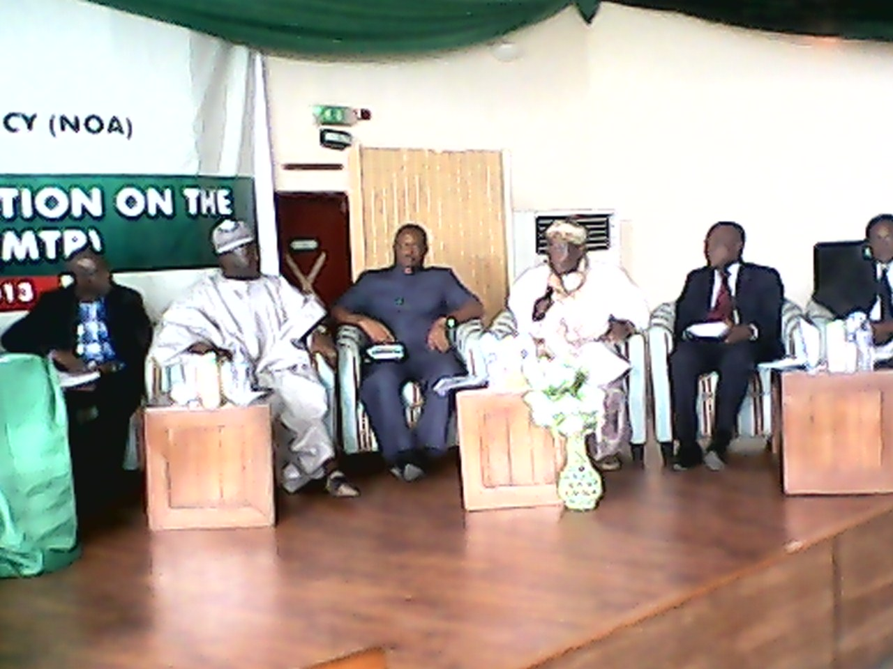 Discussants at the stakeholders conversation