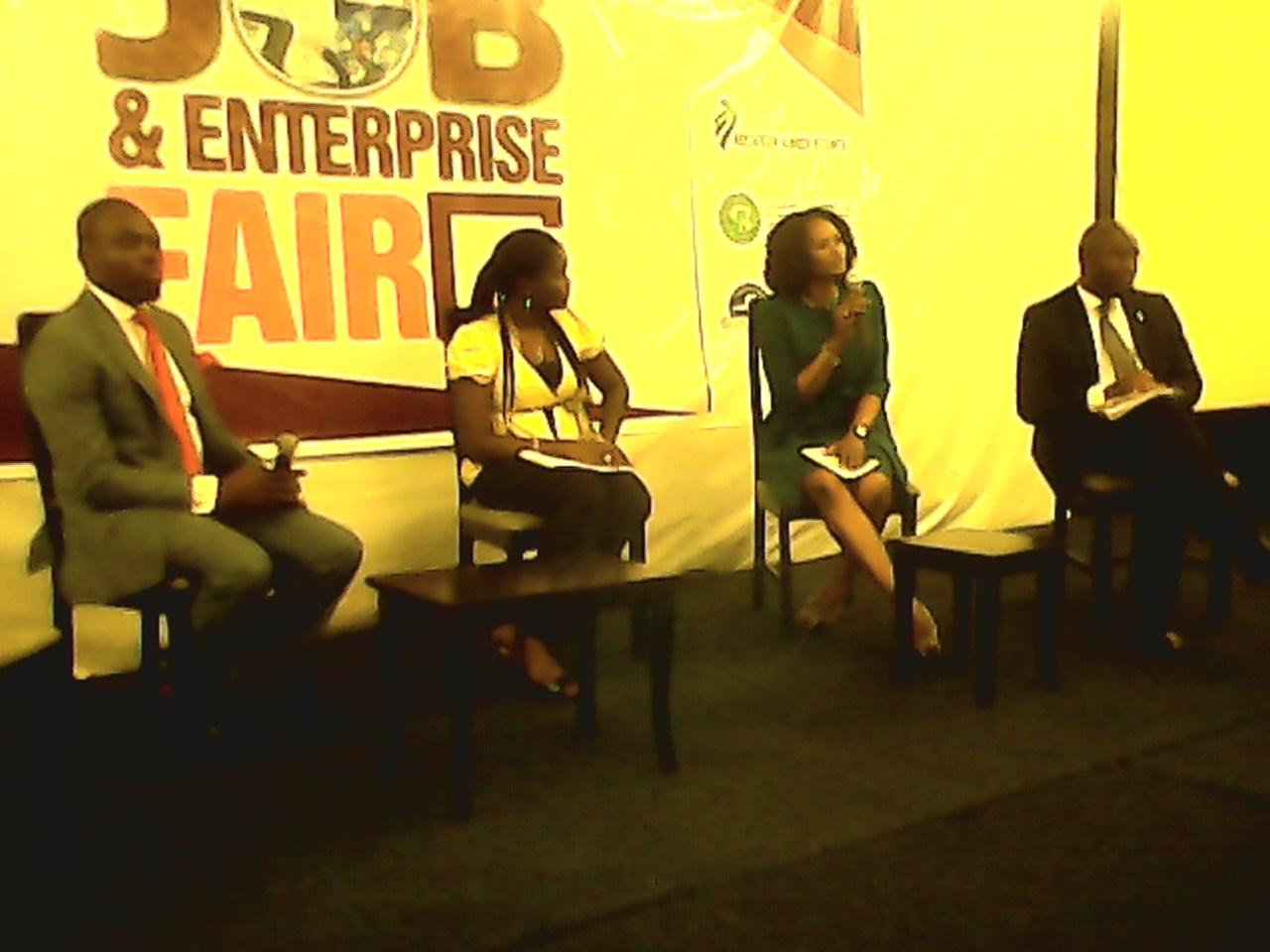 Guest Speakers at the Calabar Job and Enterprise Fair