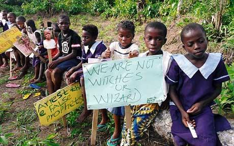 children denoucing stigmatization