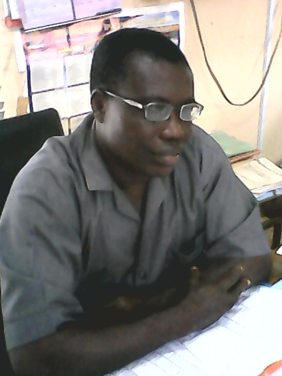 Mr. Maurice Effiom Effiwat, Director of Livestock, Cross River State Ministry of Agriculture and Natural Resources