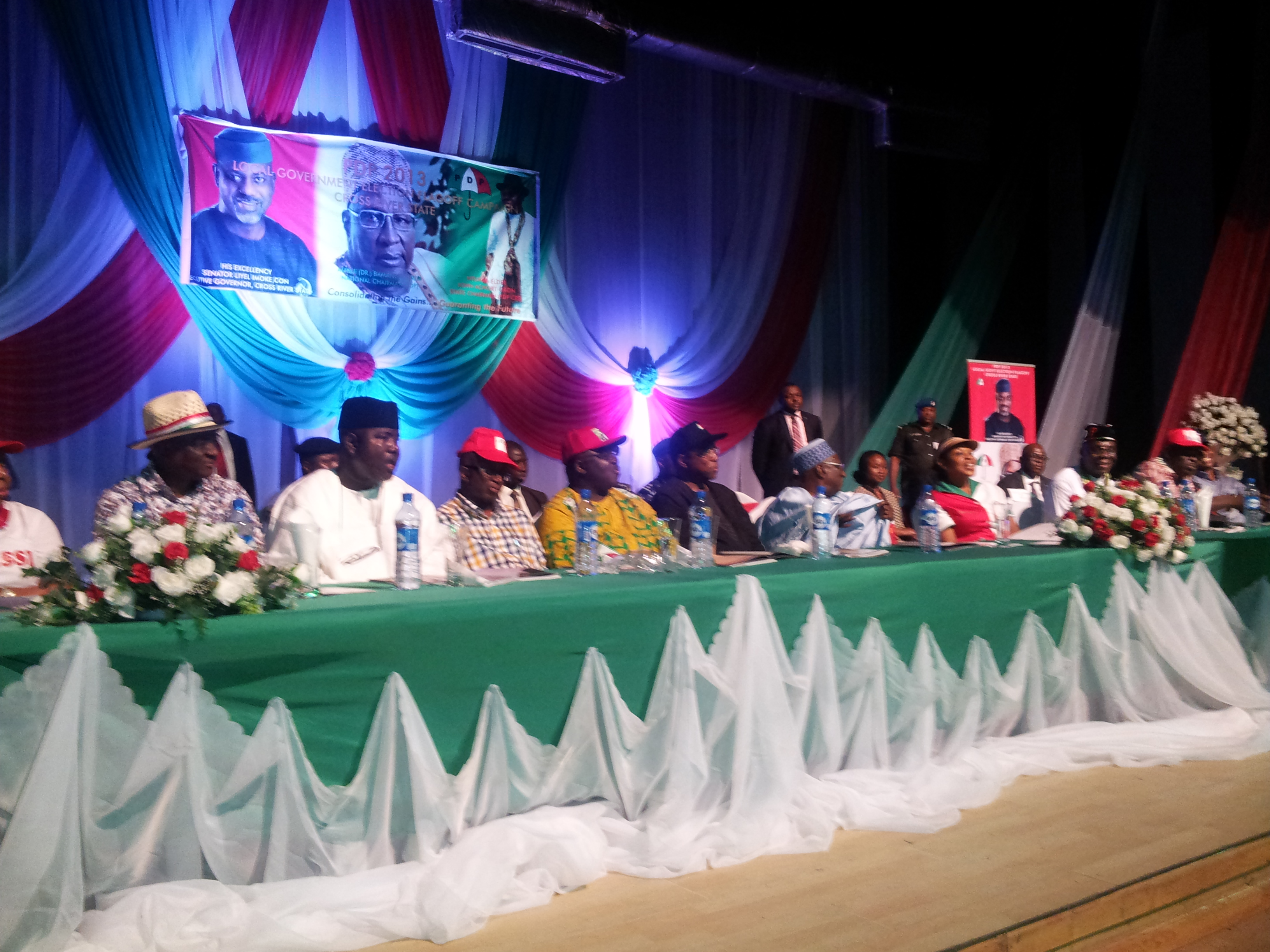 Expanded zonal meeting of the PDP held in Calabar recently