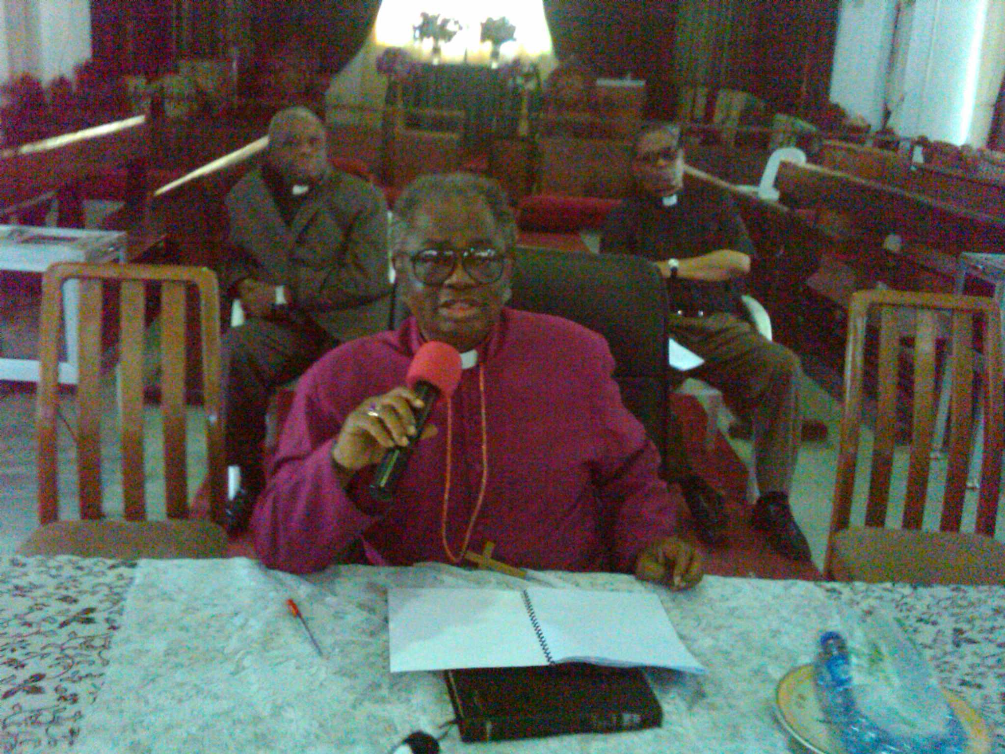 Rt. Rev Tunde Adeleye, Synod President, Anglican Communion, Calabar Diocese