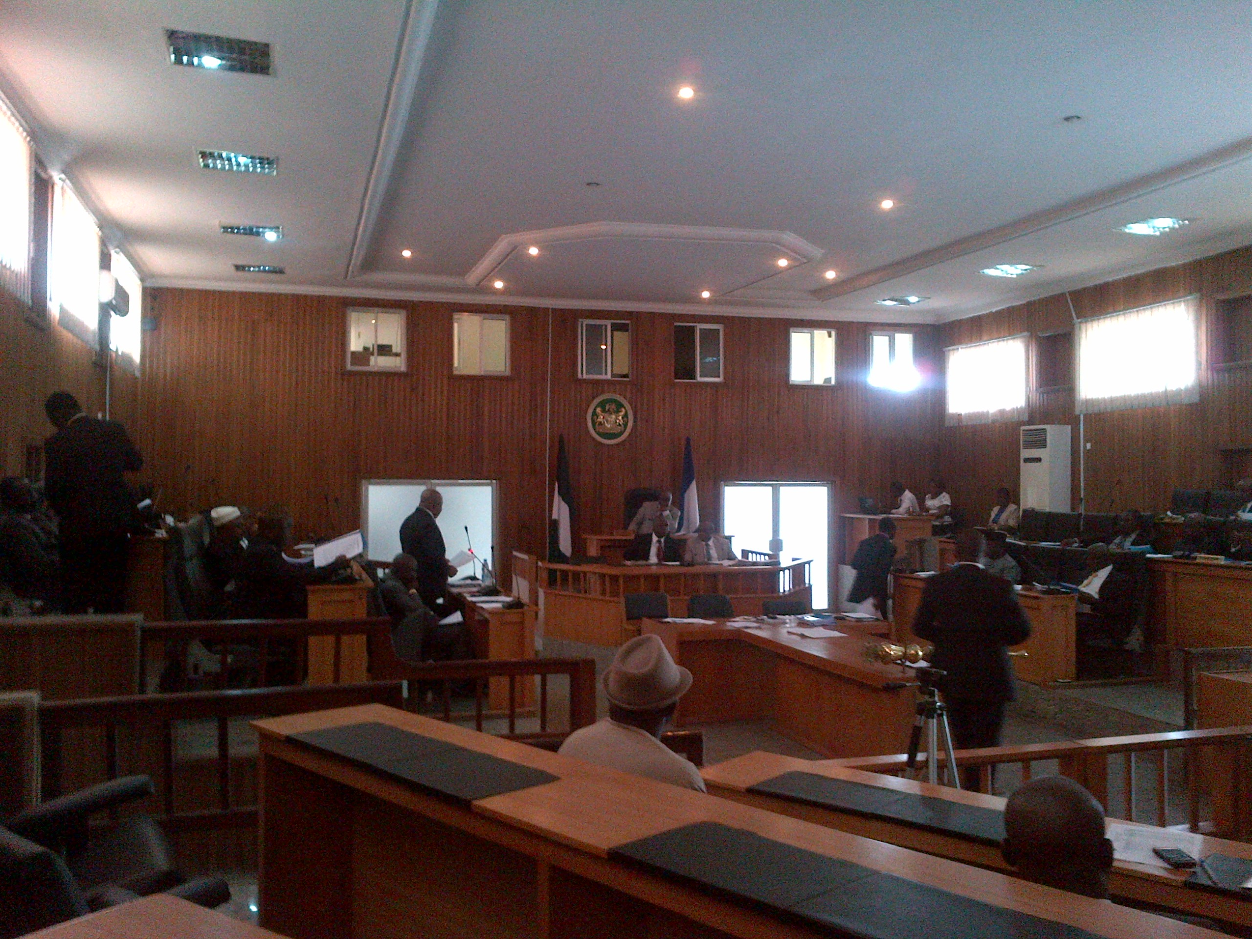 Plenary, Cross River State House of Assembly