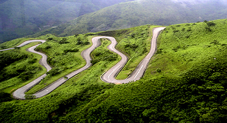 The snaky route to the Obudu Mountain heights