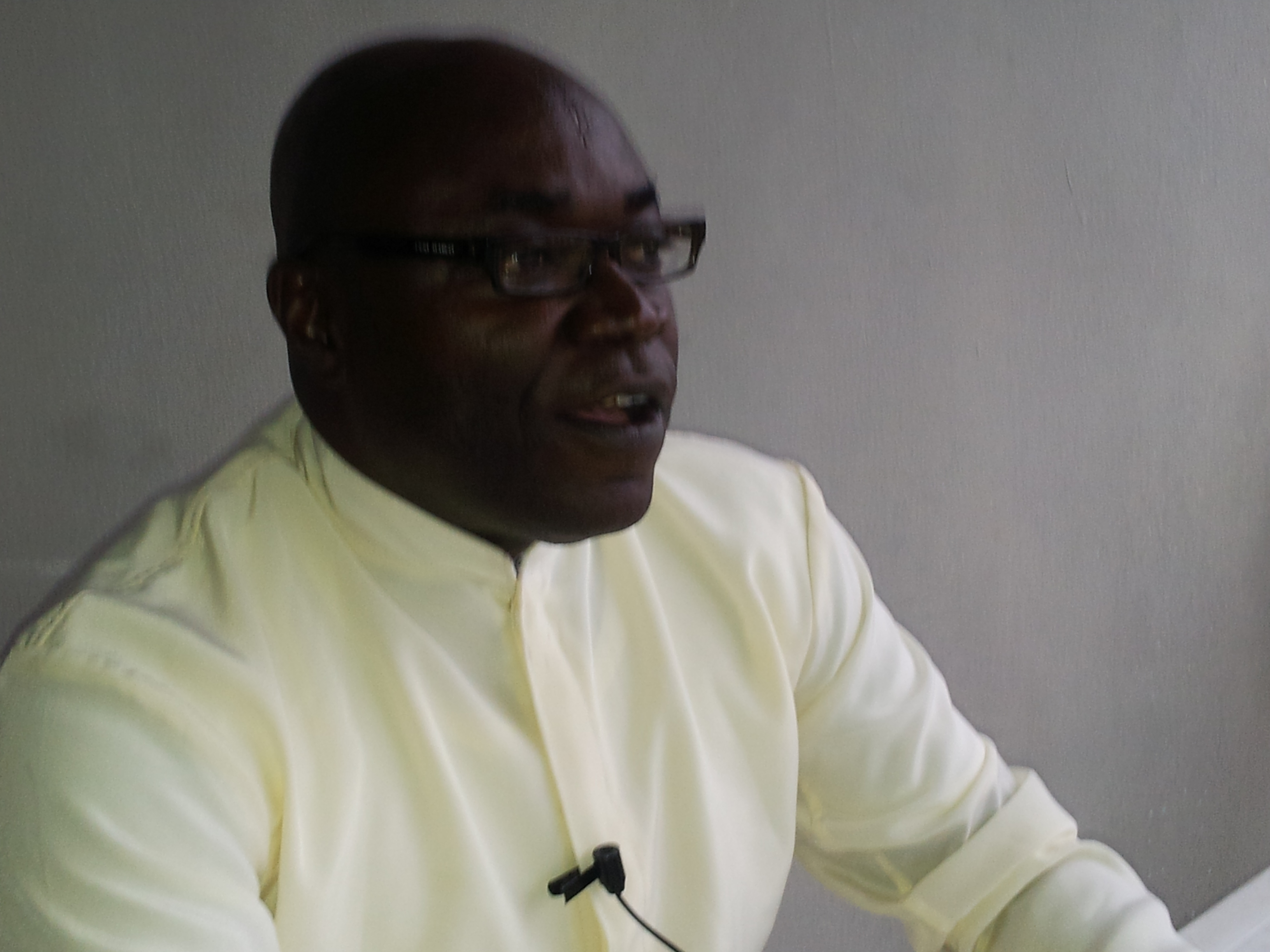 Reverend Father Evaristus Bassey, Director of Church and Society of the Catholic Secretariat of Nigeria