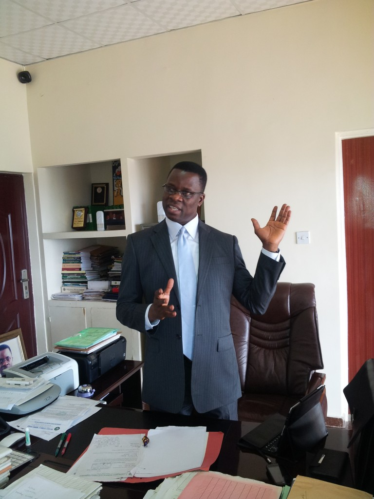 Barrister Mike Igini, Resident Electoral Commissioner, Cross River State