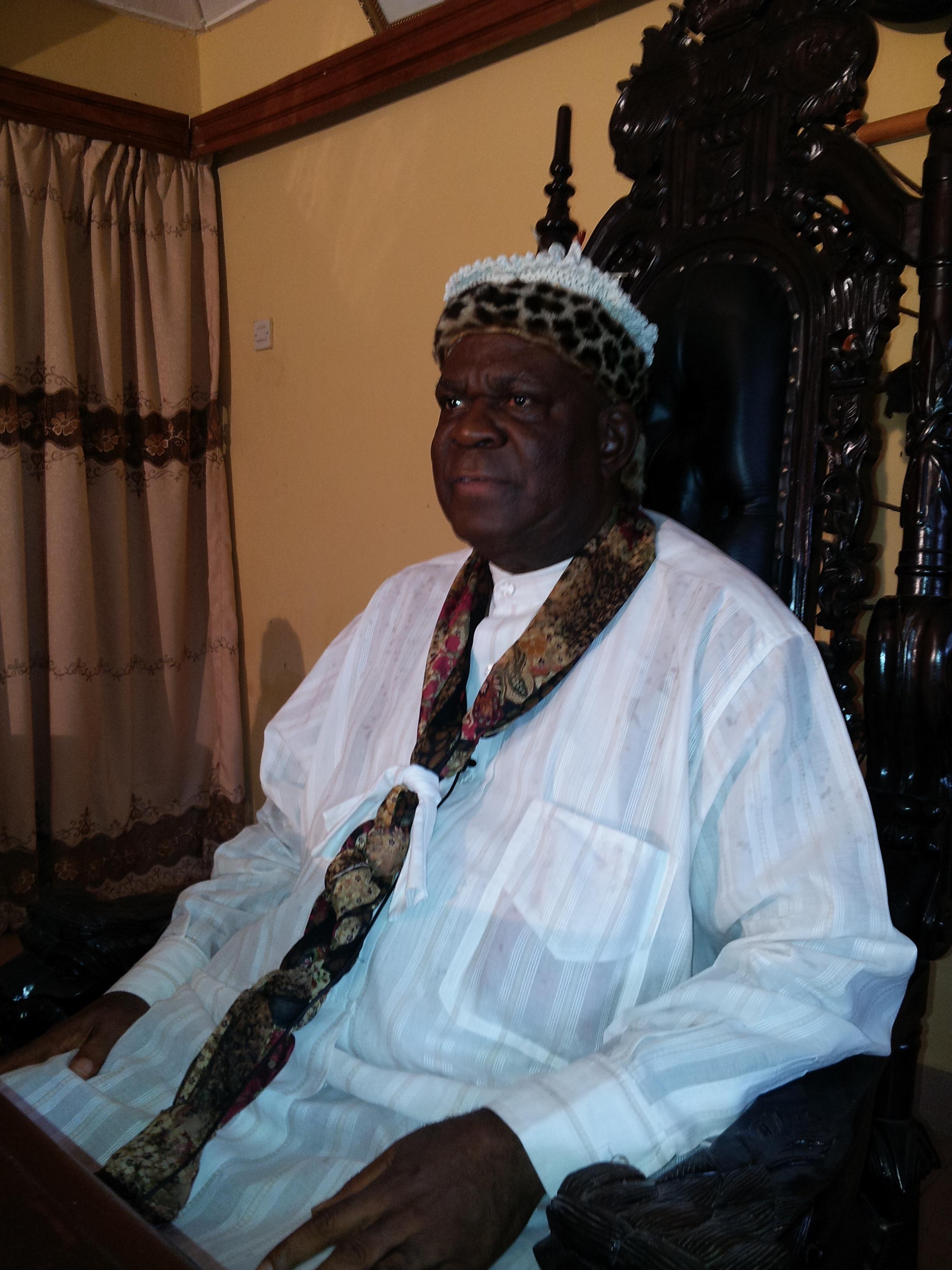 Obong of Calabar, Edidem Ekpo Okon Abasi Otu V