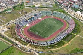 UJ Esuene Stadium, Calabar, one of the suspected targets