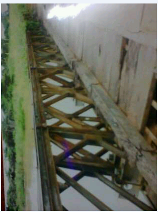 Akrieha bridge in Aliforkpa, Yache, Yala LGA