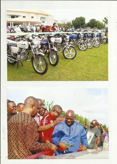 motorcycles ready for distribution