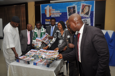 First year anniversary of CrossRiverWatch at Transcorp Hilton Hotel, Calabar, August 27, 2013
