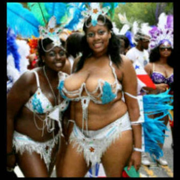 Brazilians at the Carnival Calabar 2013