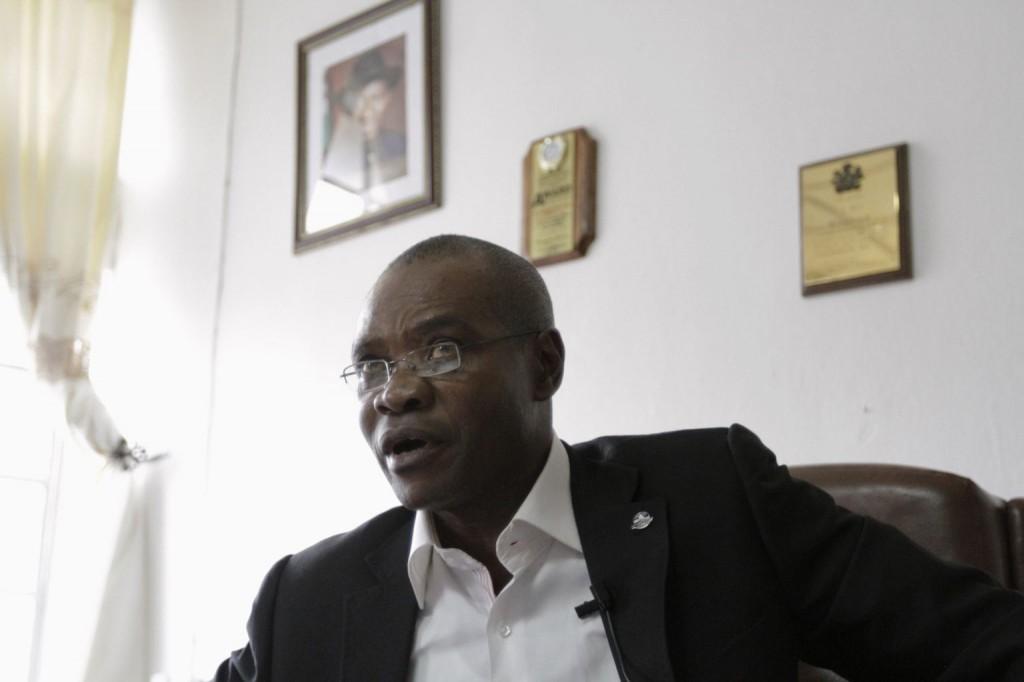 Director-General, Cross River State Emergency Management Agency (SEMA) Mr. Vincent Aquah