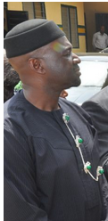 Chief Akin Ricketts, Cross River State Commissioner for Information
