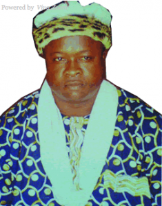 Etiyin Etim Edet-Okon , Paramount Ruler of Bakassi