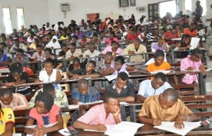 Students back in class