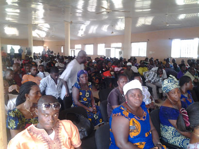 A cross section of participants at the sympsium