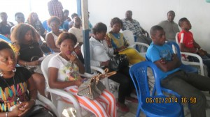 A cross section of AGN members at the meeting