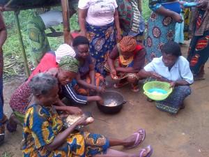 Bakassi women suffering and smiling