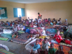 Born in the camp...Children of Bakassi refugees are leaving on the edge