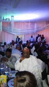 Members of the Law School Class of 88 at the event in Calabar